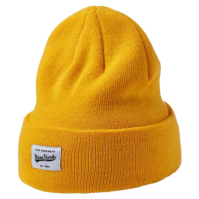 Upfront Gaston Youth Beanie JR Yellow