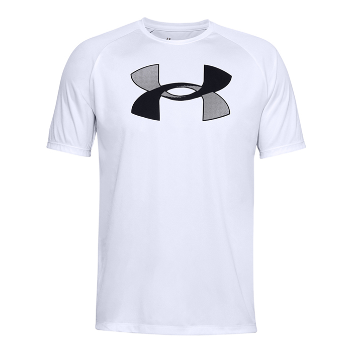 Under Armour Ua Big Logo Tech Ss M