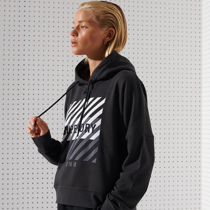 Superdry Training Core Sport Hoodie W
