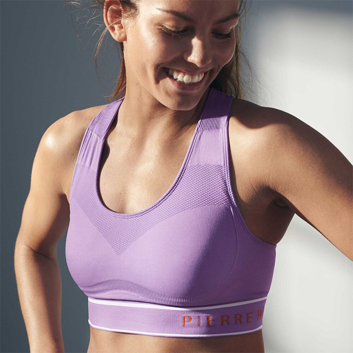 Pierre Robert Sports Bra Mid-High Support - Seamless