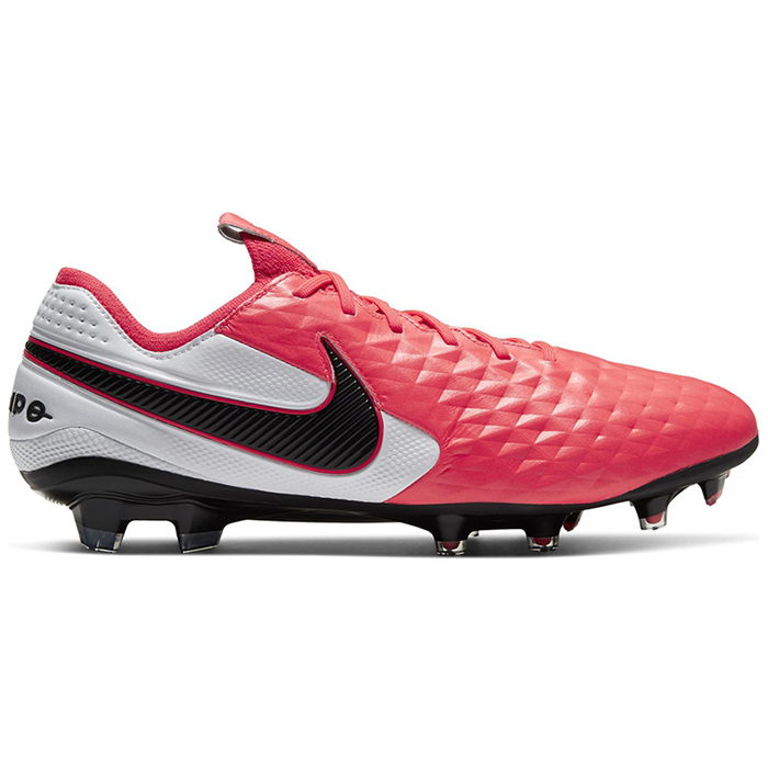 Nike Legend 8 Elite FG Röd/Vit