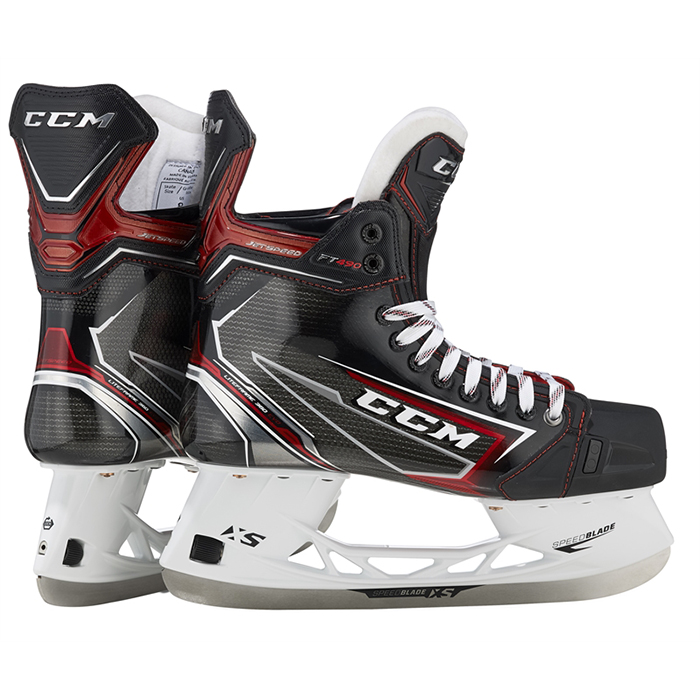 CCM Jetspeed FT490 Skridsko Junior