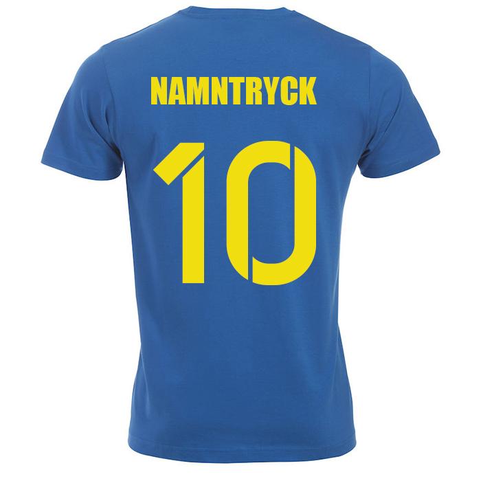 Sverige T-Shirt Blå Sr