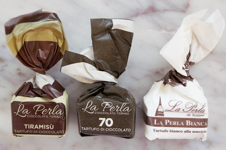 Italienska chokladtryfflar 3 st