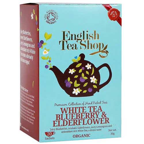 Vitt te blåbär & fläder