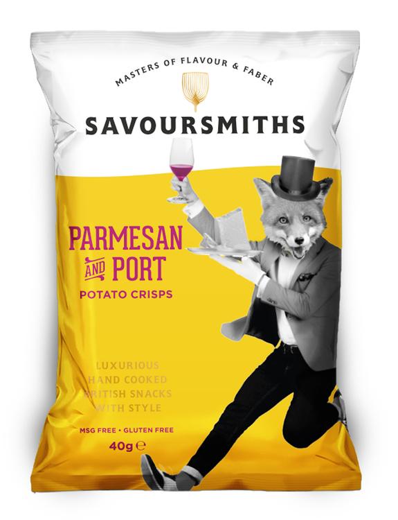 Chips med Parmesan & Portvin 40 g