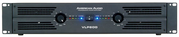 VLP 600 power amp