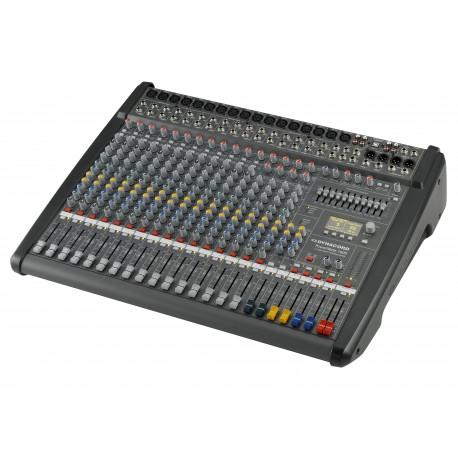 Dynacord PowerMate1600-3 12mik/linje,4 mik/st 2x1000W USB