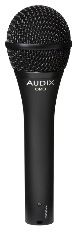 AUDIX OM3 Dynamic Vocal, Microphone