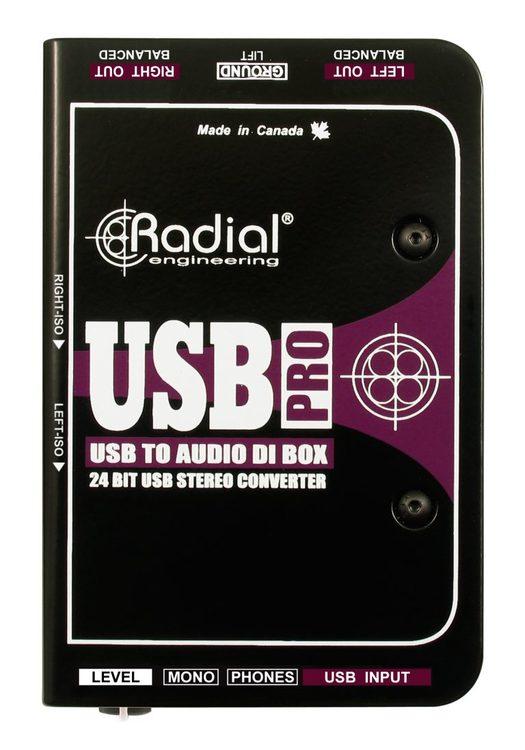 Radial USB Pro Stereo DI