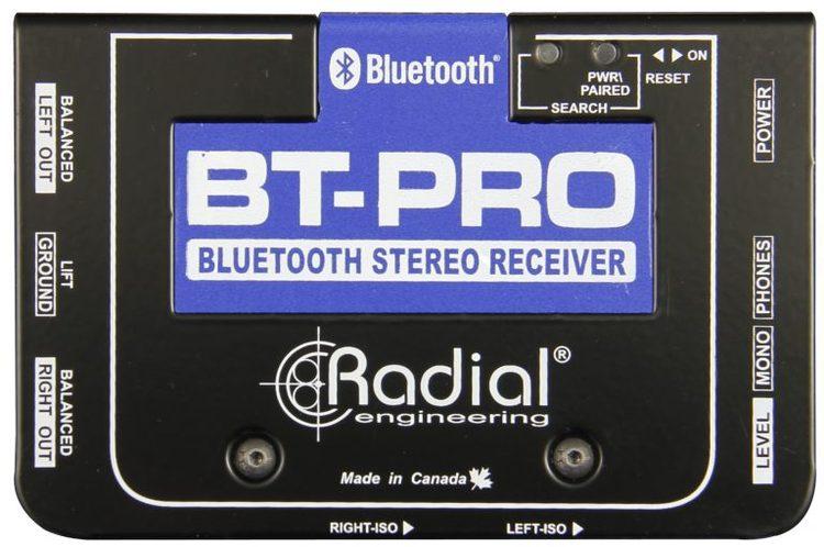 Radial BT-Pro Stereo Bluetooth DI box