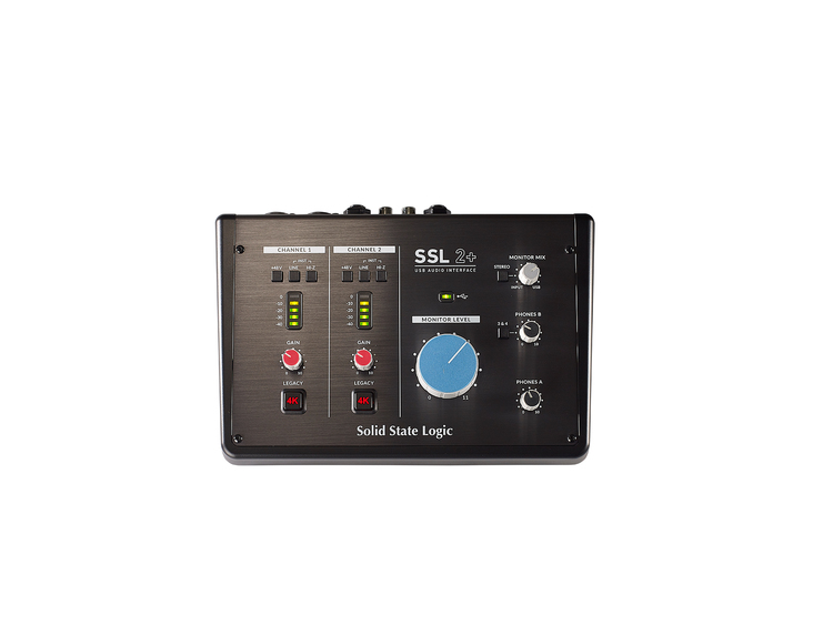 SSL 2+ USB Audio Interfaces