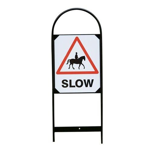 Slow down - skylt