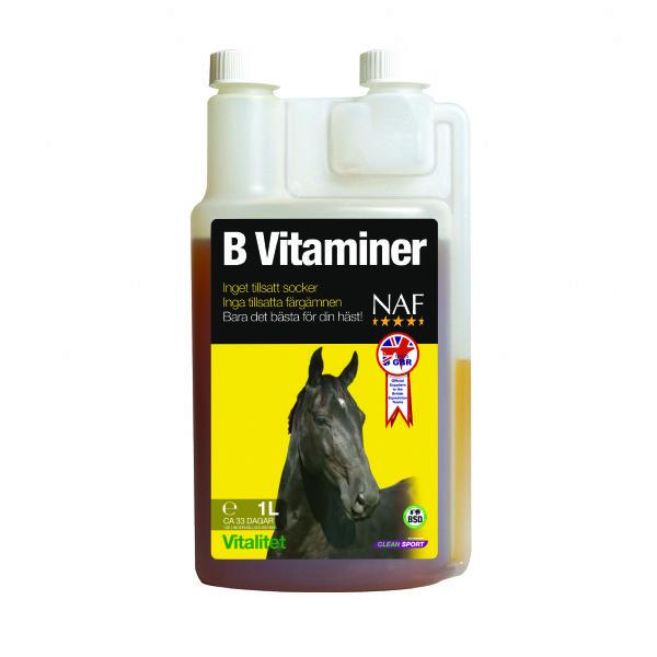 B Vitaminer 1L- Uden tilsat sukker