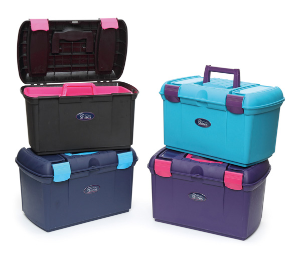 Shires Two Tone Tack Box