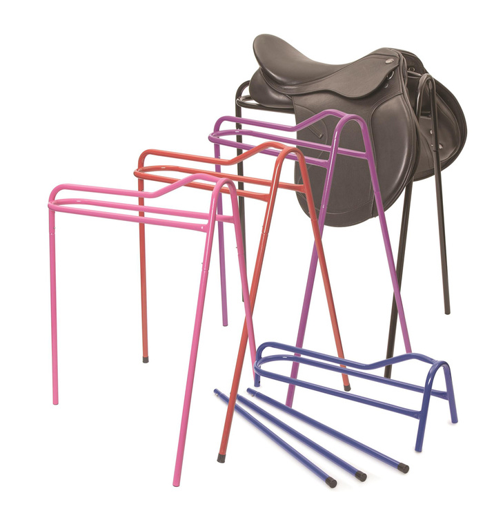 Collapsible Saddle Stand Black