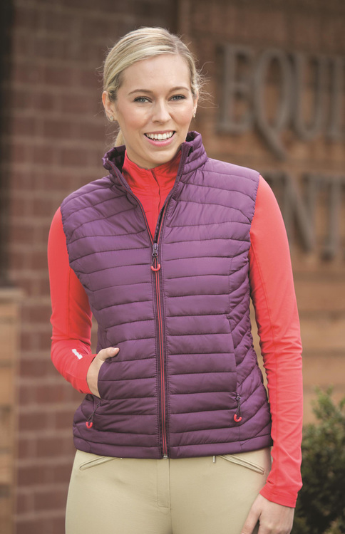 BARCELONA PADDED GILET - LADIES