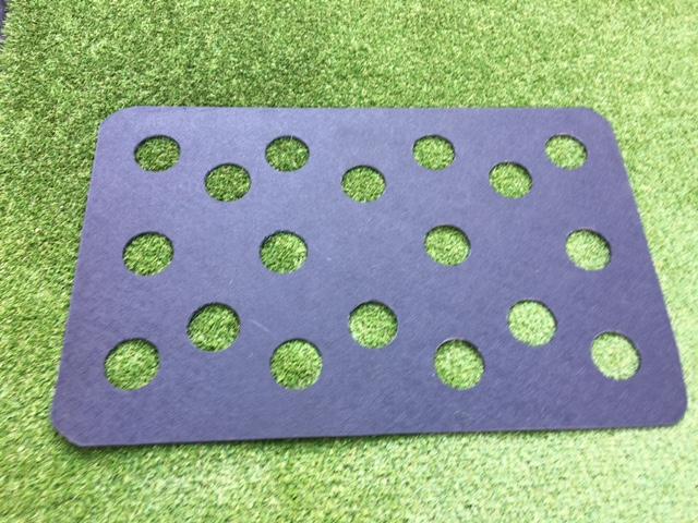 Restrictor plate - Hay Saver