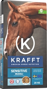 Krafft Sensitive Muesli, 20 kg