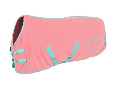 pony fleece pink