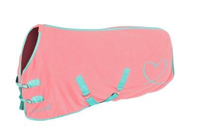 pony fleece pink