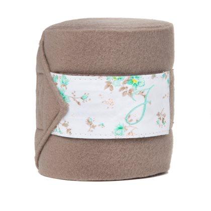 Fleecebandage Blomma 4-p