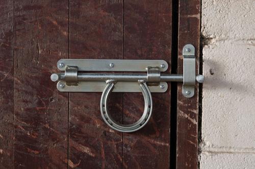 Hästsko-lås