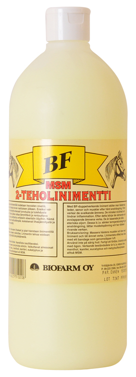 BF 2-Effektliniment +MSM
