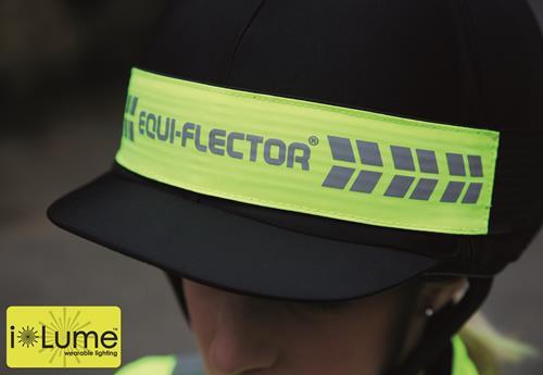 EQUI-FLECTOR®- Blinkande hjälm-reflex