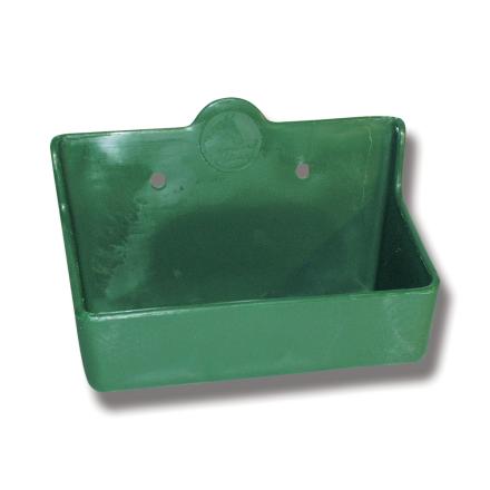 Saltstenshållare box plast för 2 kg sten grön