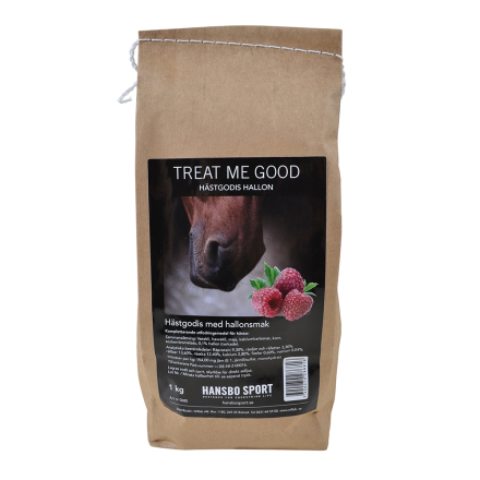 Treat Me Good-Hevosnami, vadelman makuinen, 1 kg