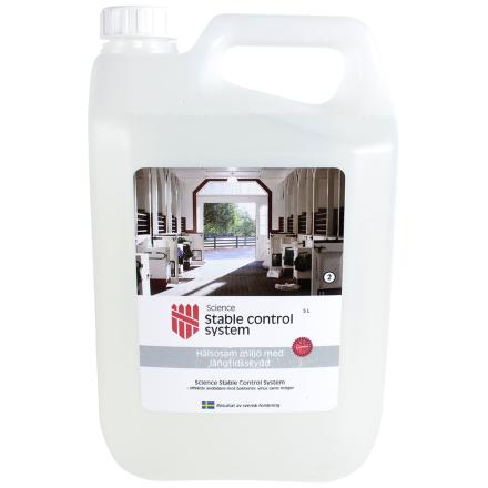 Hg. Stable control tallin desinfiointiaine 5 litraa