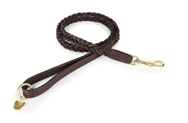 Digby & Fox Plaited Dog Lead
