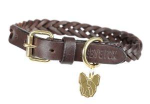 Digby & Fox Plaited Dog Collar
