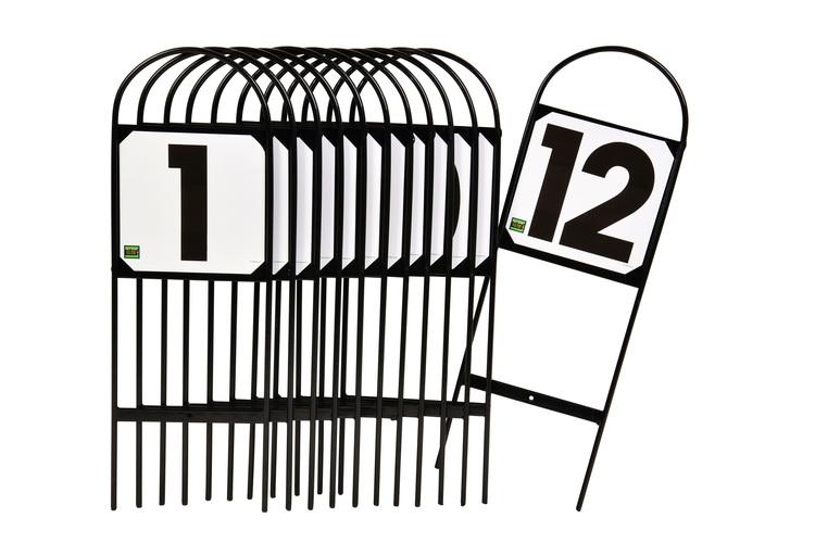 Ridbaneskyltar 1-12
