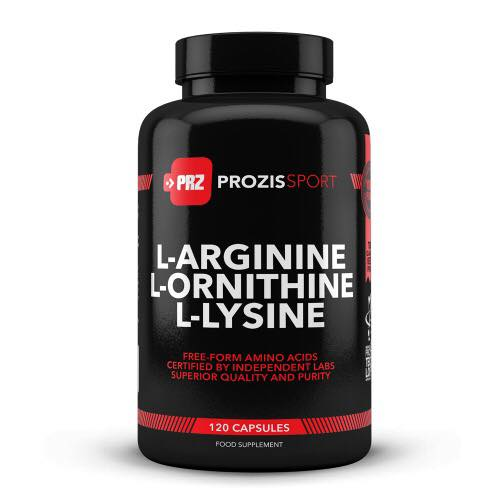 Prozis Sport L-Arginine L-Ornithine L-Lysine