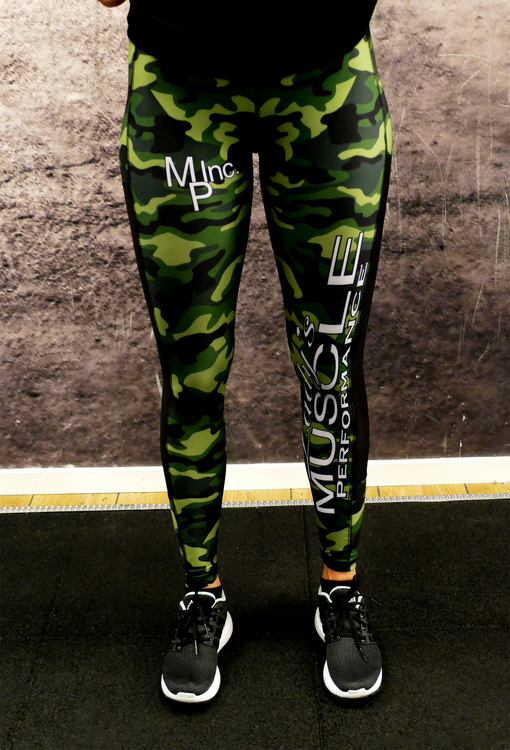 MPinc Lady's Grey Camo Tights