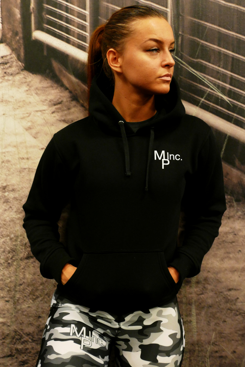 Woman MPinc Lady's All Black Hoodie