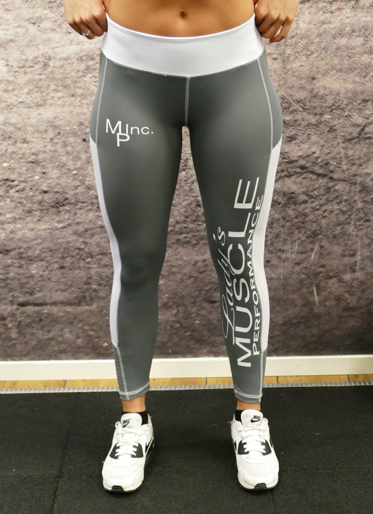 MPinc Lady's Grey Diamond Tights