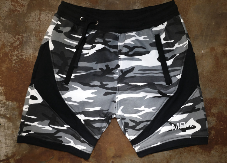 MPinc Grey Camo shorts