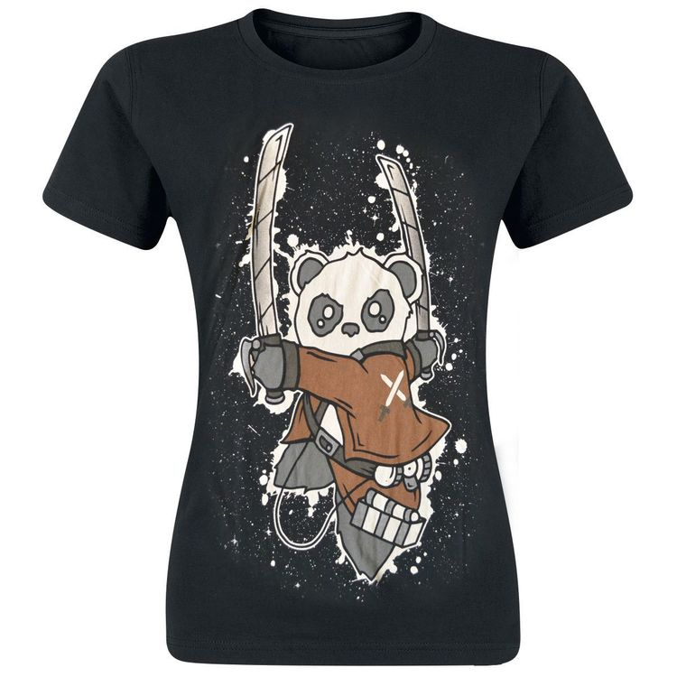 Attack on Panda t-shirt
