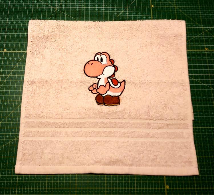 Gästhandduk - Super Mario - Yoshi