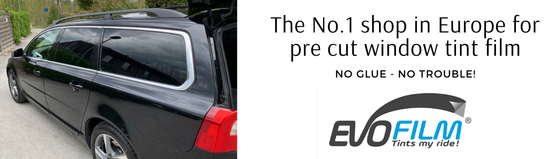 EVOFILM pre cut window tint film for cars