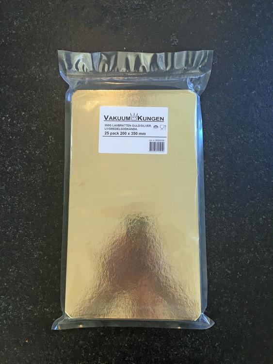 Laxbrickor Guld/Silver 130x215