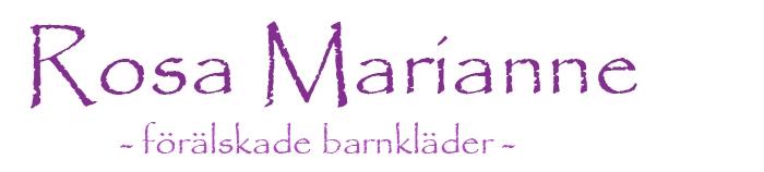 Rosa Marianne - förälskade barnkläder