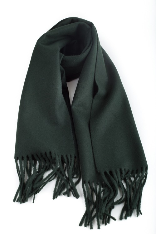 Wool Solid - Dark Green