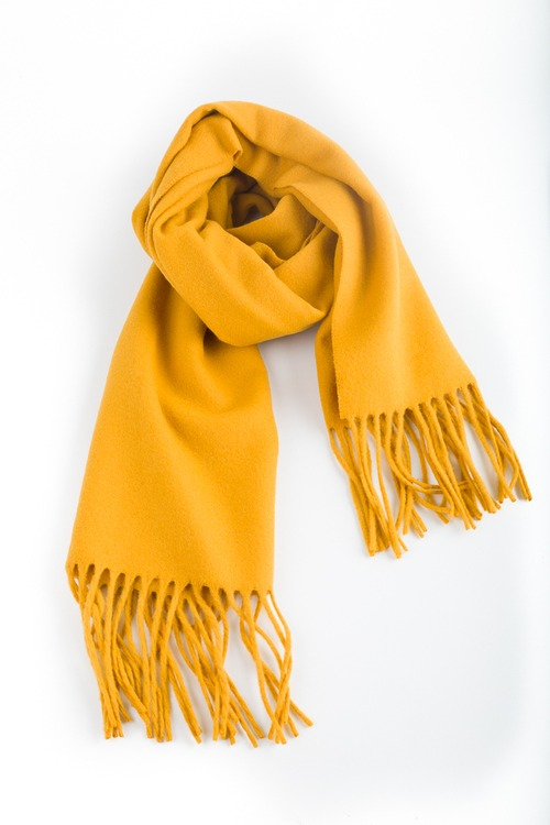 Wool Solid - Mustard