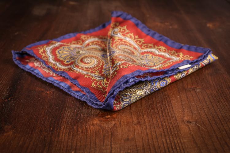 Silk Oriental - Burgundy