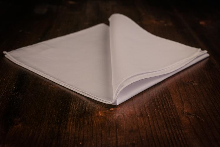 Cotton Plain - White Poplin