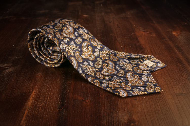 Vintage Paisley - Navy Blue